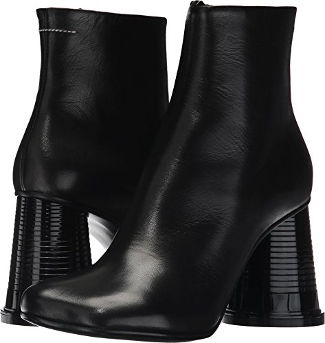MM6 Maison Margiela Womens Hollow Cup Heel Boot Black Nappa x7IPItIwCe