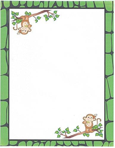 Monkey Stationery Printer Paper 26 Sheets