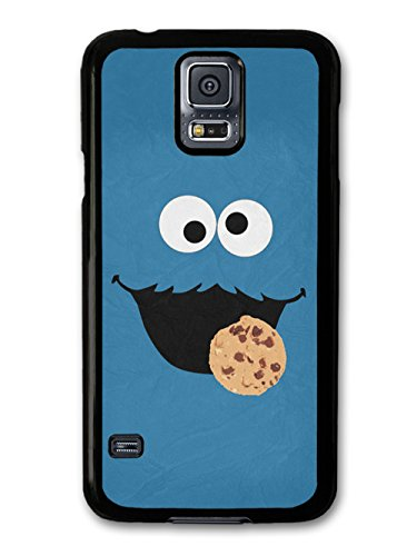 Cookie Monster Muppet Blue Face Minimalist Poster TV Show case for Samsung Galaxy S5