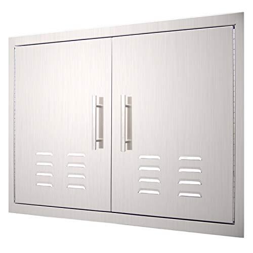 YXHARD Outdoor Kitchen Door, 304 Stainless Steel 36