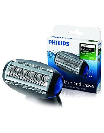 Philips TT2000/43 - Cabezal de recambio para afeitadoras corporales Philips, color gris