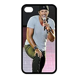 Luke Bryan iPhone 4/4s Case Hard Cover Protective Back Fits Case PC4647 by ruishername