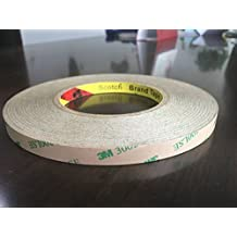 50M Meters 10MM Double Sided Tape Adhesive stronger stick for 5050 5630 SMD LED Strip Lights (10mm tape strong adhesive)