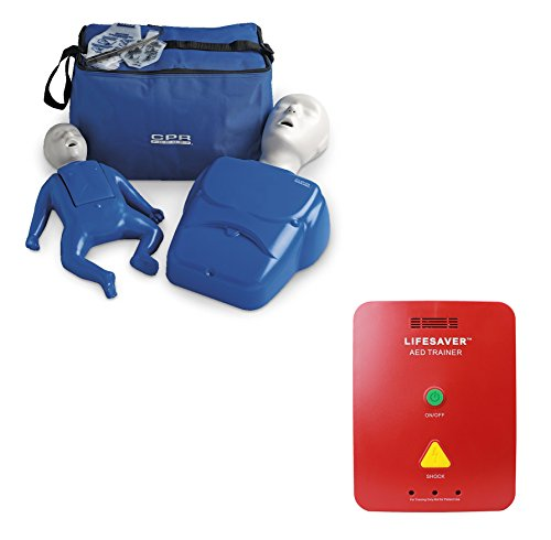 Beginner Instructor Package - CPR Prompt Manikins + Lifesaver AED Trainer