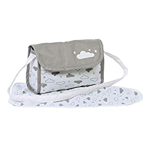 Adora Baby Doll Diaper Bag – Twinkle Stars Diaper Bag with Accessories, Gender Neutral Cloud Print