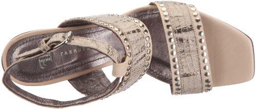 Farrutx sandal 41790 - Sandalias de vestir para mujer, color beige, talla 36