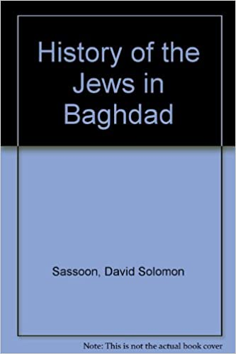 Book History of the Jews in Baghdad