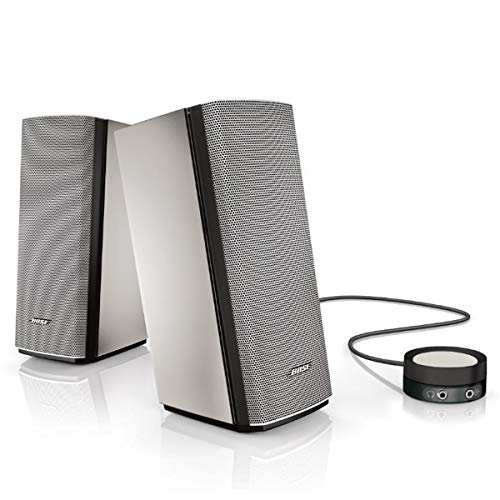 Bose Companion 20 Multimedia Speaker System Silver (Computer Rated Speakers Top)