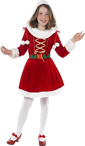 Little Miss Santa Costume Medium