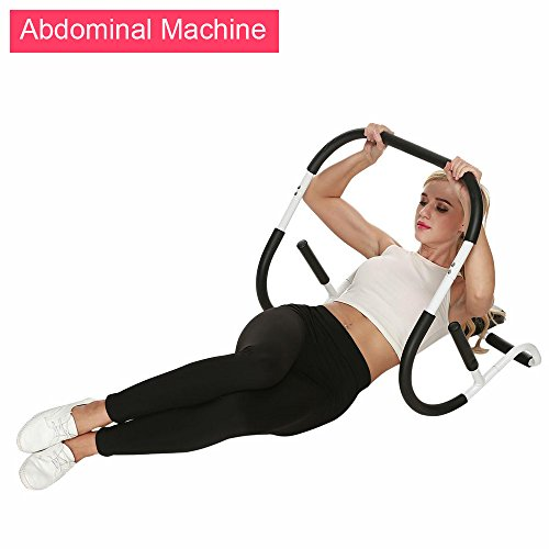 evokem Ab Roller Evolution Abdominal Machine, Portable Crunch Trainer Workout Home Gym Equipment (US STOCK) (AB Roller)