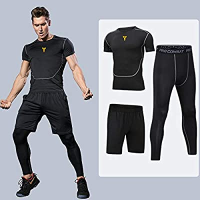 Fitness Suit Men S Sports Running Clothes Quick Drying