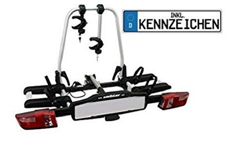 Uebler Fahrradträger X21-S für 2 Fahrräder faltbar mit Kennzeichen (bitte bei Kauf mitteilen) 15760 product image