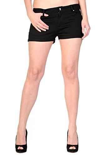 Banned-Plain-Black-Shorts