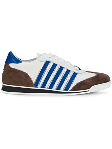 Dsquared2 Herren Snm041925100041m1369 Weiss Leder Sneakers