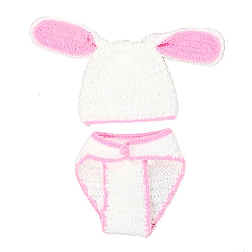 Baby Consumer Crochet Clothes Photo Prop Outfits 2-9 Months for Boys Girls 2 Pack