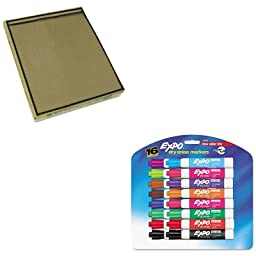KITCLI46158SAN81045 - Value Kit - C-line Shop Ticket Holders (CLI46158) and Expo Low Odor Dry Erase Markers (SAN81045)