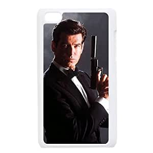 007 James Bond iPod Touch 4 Case White TPU Phone Case SV_275323