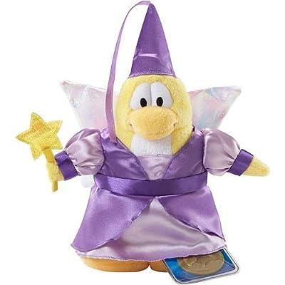 "Club Penguin Series 2 Fairy 6.5"" Plush Figure [Purple Dress] (Jakks Pacific): Toys & Games"