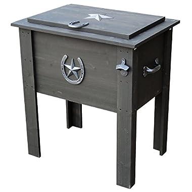 Leigh Country TX 93728 Char Log Cooler, 54-Quart