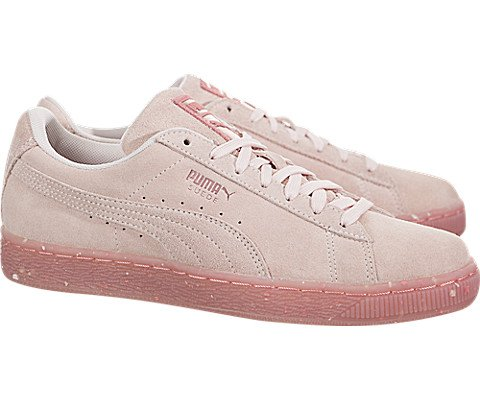 88fead1fb372 PUMA Women s Suede Classic Glitz Shell Pink Shell Pink 8 B US B (M