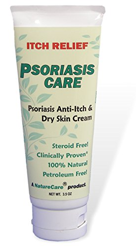 (Psoriasis Cream! FAST itch relief. 100% natural, organic, non-GMO. NatureCare by Rowell Labs.)