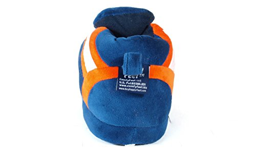 NCAA OFFICIALLY Womens and Sneaker Feet Cavaliers Virginia Slippers LICENSED College Men's Happy fqYIn