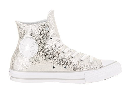 Chuck Star Converse 35 Stingray Silver Eu All Leather Taylor Metallic 5 dHqqw7