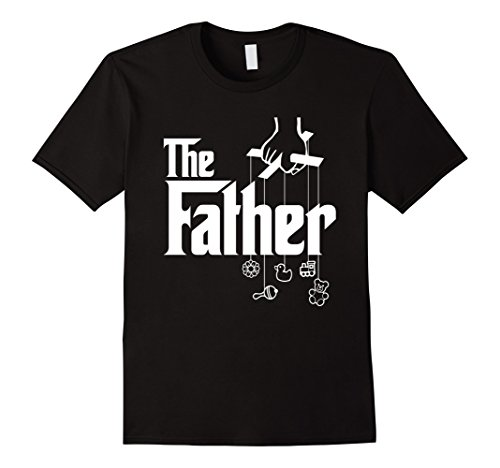 Mens The Father! First Time Father's Day, New Dad Gift T-Shirt Medium Black