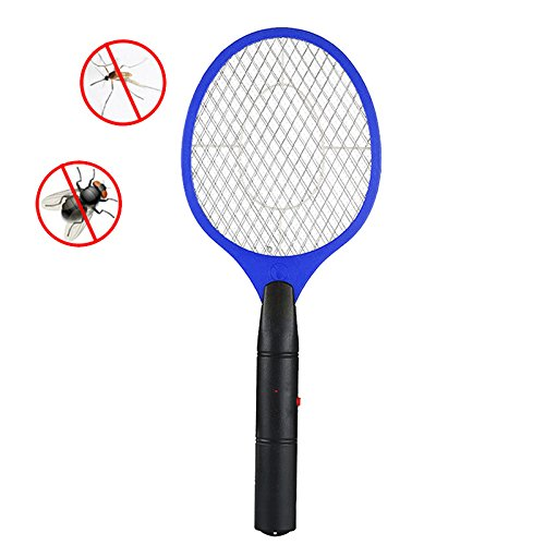 OurLeeme Trois Couches Bug moustiquaire Insecticide Zapper Tapette Batterie pour Powered Home Office Camping, Bleu