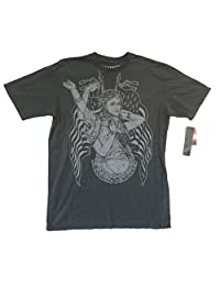 Smashing Pumpkins Liberty SP Image Grey T Shirt Soft