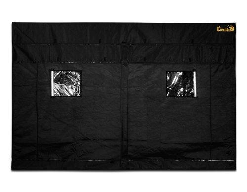 Gorilla Grow Tent – 10 Feet Length x 10 Feet Width (Adjustable Height) by Gorilla