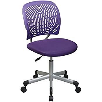 Amazon Com Office Star Designer Task Chair In Fabric And