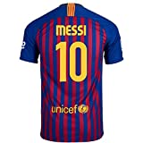 Nike Messi #10 FC Barcelona Home Youth Soccer Jersey 2018-19