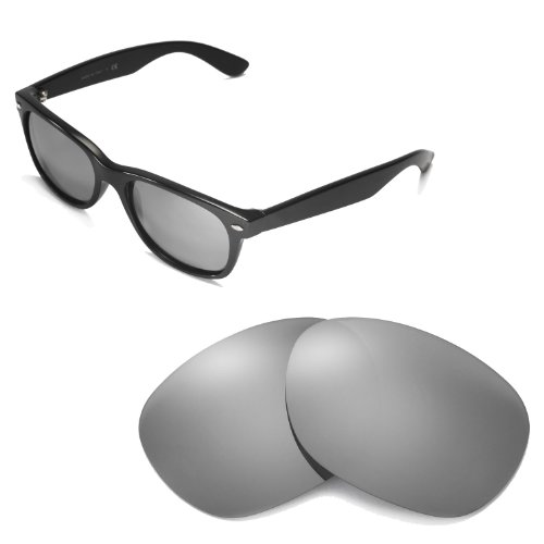 b8ab84bcab Walleva Replacement Lenses for Ray-Ban Wayfarer RB2132 55mm - Myltiple Options  Available - Buy Online in UAE.