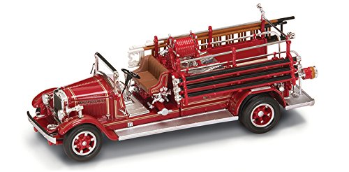(Road Signature 43005 1932 Buffalo Type 50 Fire Engine Red 1/43 Diecast Car Model)