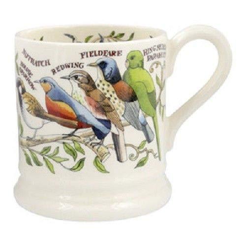 - EMMA BRIDGEWATER POTTERY NEW HALF PINT MUG - Garden Birds
