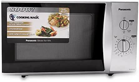 Panasonic NN-SM332M 25-Liter 800W Microwave Oven, 220 Volts (Not for USA)