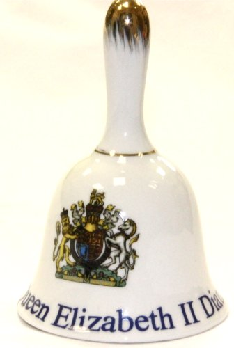 Queen Elizabeth II Diamond Jubilee Collection Decorative Bell (Royal Coat of Arms) Queen Elizabeth Coat Of Arms