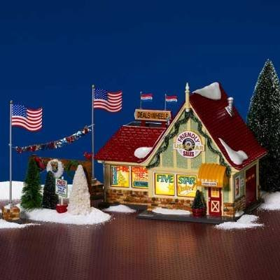 (Dept 56 - Snow Village - Friendly Used Car Sales 55340 by Department 56 -)