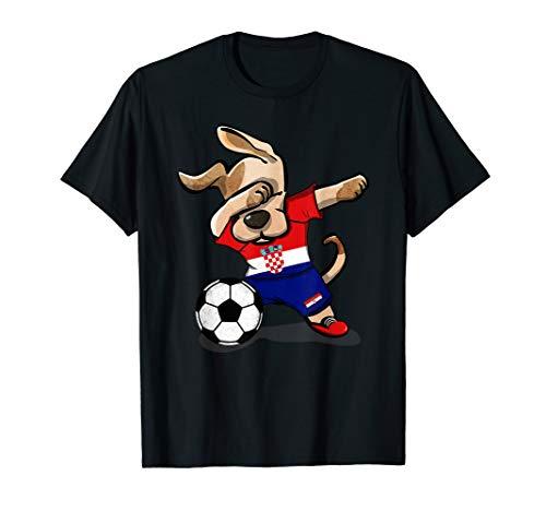 Croatia Football Shirts - Dog Dabbing Soccer Croatia Jersey Shirt Croatian Football
