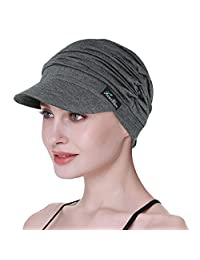 FocusCare Soft Hats for Chemo Women Bamboo Baseball Cap Hair Loss Turbans