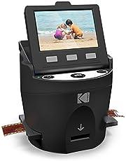 Kodak Digitale Filmscanner, Converteert Negatieve en Filmdia's 35 mm, met LCD-Scherm, Zwart, 1 Stuk