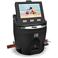 Kodak Scanza Digital Film & Slide Scanner Includes Large Tilt Up 3.5 LCD and EasyLoad Film Inserts