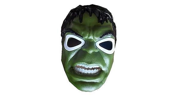Nuevo Hulk Man Máscara con iluminación LED para niños: Amazon.es: Oficina y papelería