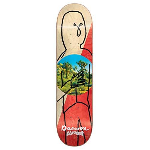 Almost Diagonal R7 Skateboard Deck - Daewon Song - 8.125