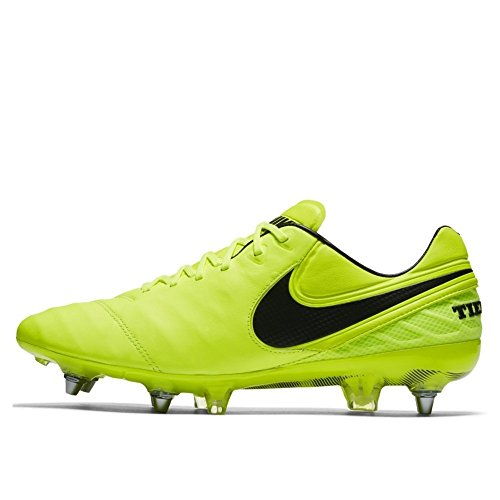 9 8 Us Uk Volt Cleats Legend Pro Vi 5 707 Volt Nike 42 Eu Boots Football Tiempo Soccer Mens Sg 819680 Black 76A4x