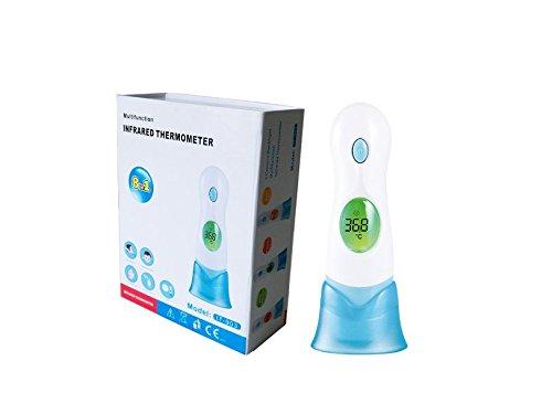 Digital Multifunktions Stirn Ohr Ambient Fahrzeugtechnik Infrarot-Thermometer hygienischen einfach zu verwenden und genaue fastthree colourdisplay zur Anzeige Normal leichten und hohe Fieber