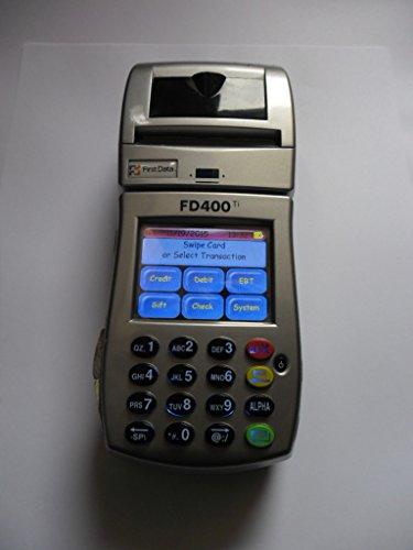 First Data FD400Ti Wireless Credit Card Machine