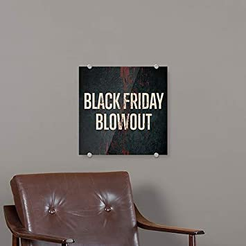 Black Friday Blowout 5-Pack CGSignLab 16x16 Ghost Aged Rust Premium Acrylic Sign