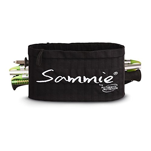 Sammie TRAIL Blister Noir XS/S Poche Ventrale Mixte Adulte 0AUO2|#Authentic Nutrition TRAILSAMBLISTNOIRXS